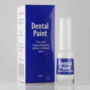 Лак для зубов Dental Paint
